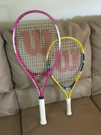 Adult and Kid size racket - almost brand new  Hershey, 17033