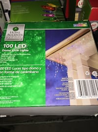 Home accents 100 led dome icide lights