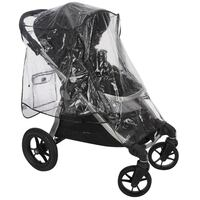 Durable plastic stroller cover (stroller not incl)