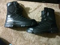 Mens BATES STEEL TOE BOOTS 54 km