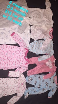 baby's assorted clothes Jacksonville, 72076
