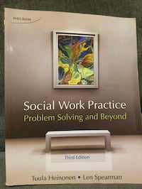 Social work books in good condition