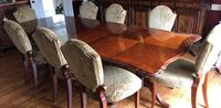 brown wooden dining table set Potomac, 20854