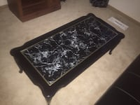 rectangular black and brown wooden coffee table Modesto, 95350