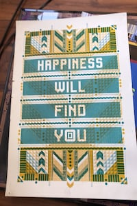 Poster - Happiness Will Find You Salt Lake City, 84111