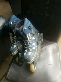 pair of black-and-gray inline skates Oak Lawn, 60453