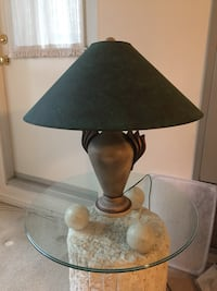 black and brown table lamp 549 km