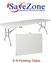 New- 8 ft Folding Table Mississauga