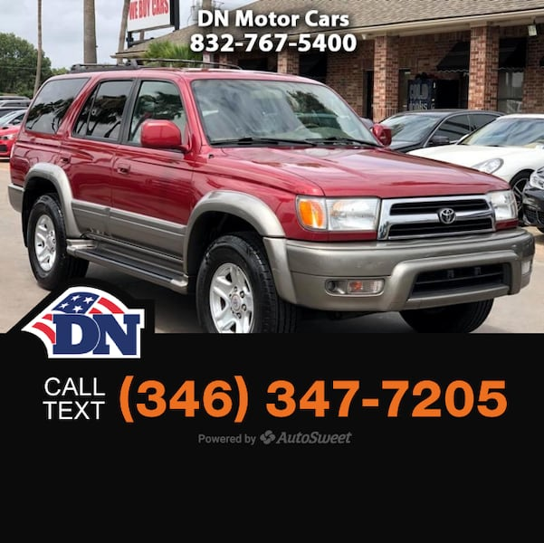 2000 Toyota 4Runner Limited 0