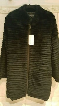 Designer real fur coat reversable XL size Toronto, M6A 1N9