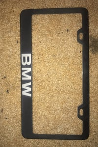 BMW license Plate holder!