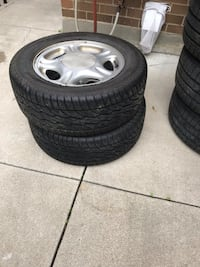 Tires set of 2 Toronto, M1E 2E2