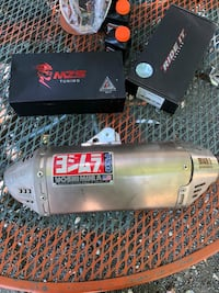 Yoshimura Slip On Exhaust Adelphi, 20783