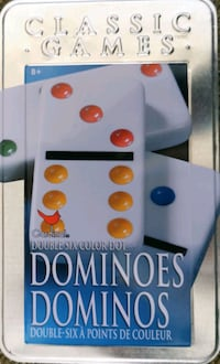 Dominoes in tin and origami set Toronto, M2R