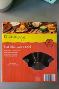 Tortilla pan set, 4pc Taco Tuesday!