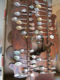 OVER 60...Large lot of spoons