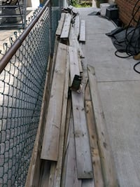 Fence / Patio wood with posts