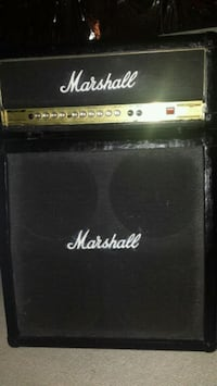 black and gray Marshall guitar amplifier Mississauga, L5N 7Y4