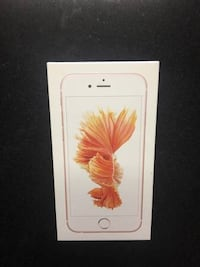 Rose gold iphone 6s box