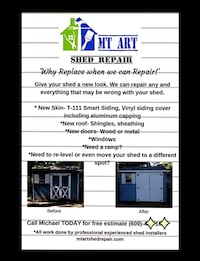 REPAIR YOUR SHED TODAY