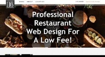 Professional Web Design For Restaurants Low Fee!