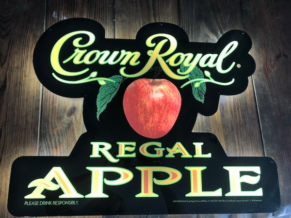 Crown Royal Regal Apple Neon Sign