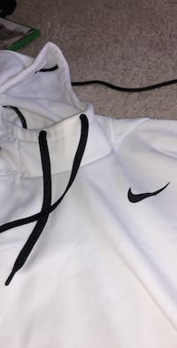 White Nike Dri fit brand new sports hoodie  Centreville, 20120