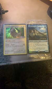 Three prerelease cards