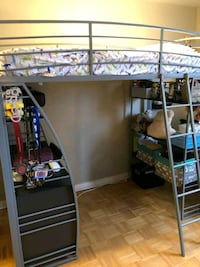 Bunk bed with mattress Toronto, M5P 1G9