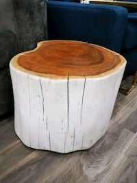 Tree trunk coffee table white Toronto, M5T 2L9