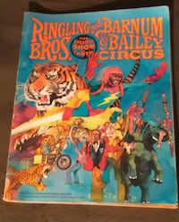 1978 Circus Program New York