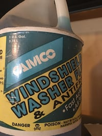 Camcorder windshield washer fluid and antifreeze 1 gallon  Potomac, 20854