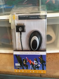 I-Concepts Black iPhone iPod travel AC adapter Moreno Valley, 92555