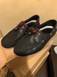 Timberlands MEN'S 2-EYE BOAT SHOES New York, 11213