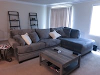 Sectional grey couch Adelphi, 20783