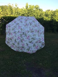 white and pink floral textile Albany