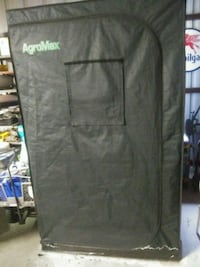 Agromax grow tent and supplies