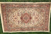"""Safavieh 3'3"""" x 5'3"""" Ivory and rust Persian design rug. Made in Turkey New Hyde Park, 11040"""