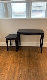 IKEA console and nesting table Westmount, H3Z 1E4