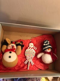 Christmas ornaments reindeer, snowmen lollipop . Check out my other listings Point Pleasant, 08742