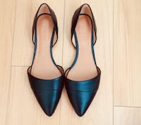 Jcrew Black leather flats (size 6) Beverly Hills, 90212