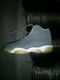 unpaired black and white Air Jordan 13 shoe Bakersfield, 93304