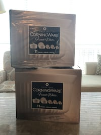 Two Sealed brand new white CorningWare 11-pc. French set/ Each for $30/ pets free smoke free home Rockville, 20855