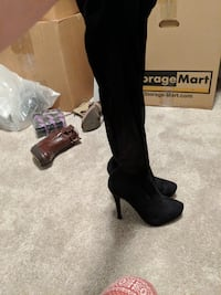 Over the knee boots size 8
