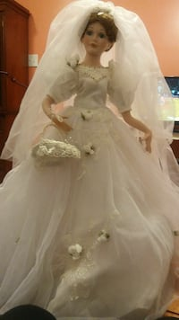 Tall Bride Doll including Stand Hagerstown