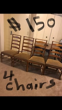 I have many chairs for sale pick up as many as you want interested pm me for more information pick up in Gaithersburg md 20877 Gaithersburg, 20877