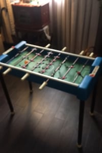 Mini foosball table for young kids