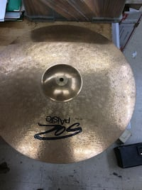 Cymbal musical instrument paiste 20 in ride 847062-4