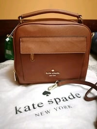 brown leathe crossbody bag Mississauga, L5R 3R9