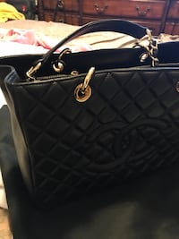 black leather Chanel tote bag Vaughan, L4J 8N8